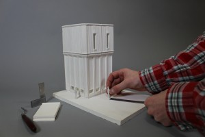 1:50 Plaster Model of the Kantorowich Building