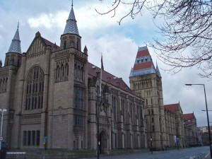 Exterior of Manchester University